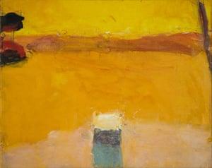 Sargy Mann: Yellow Seascape by Sargy Mann