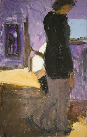 Sargy Mann: Frances Going Downstairs by Sargy Mann