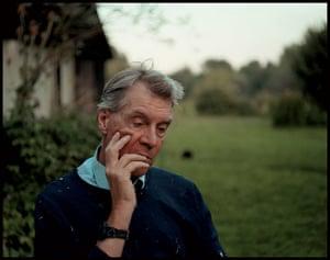 Sargy Mann: Sargy Mann in the Garden Bungay, 2002