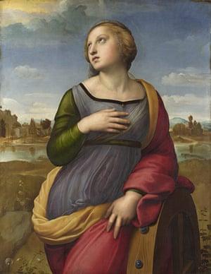 Bridget Riley: Saint Catherine of Alexandria