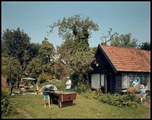 Sargy Mann: The Garden, Bungay, July 2002