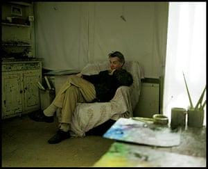 Sargy Mann: In the Studio, Bungay 2003