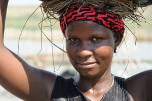 Lake Katwe: Katwe Salt Pan, Oxfam, Rwenzori, Uganda