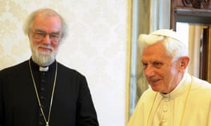 Rowan Williams with Benedict XVI