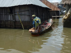 Floods in Benin: The Government  has declared a national emergency