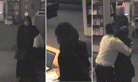 CCTV images of Roshonara Choudhry stabbing  Stephen Timms MP at his constituency surgery in Beckton.
