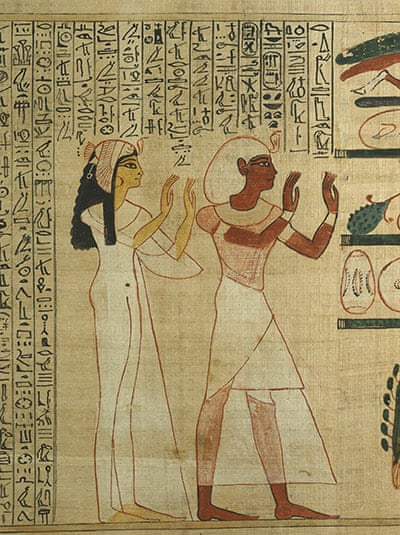 In Pictures The Ancient Egyptian Book Of Dead At British Museum