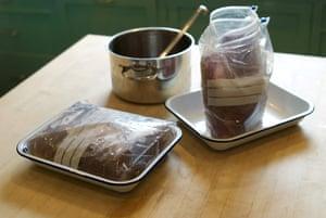 Brining brisket: Brining brisket 4