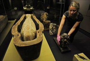 Book of the Dead: The ancient Egyptian coffin of Horaawesheb