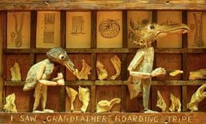 Len Shelley's I Saw Grandfather Hoarding Tripe