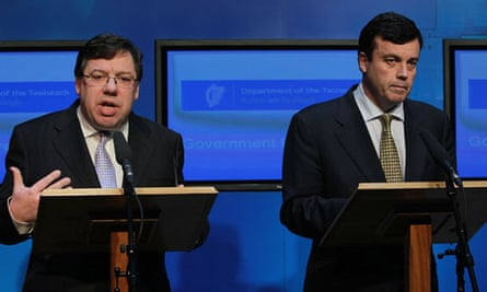 Brian Cowen and Brian Lenihan