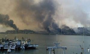 North Korea fires at South Korea