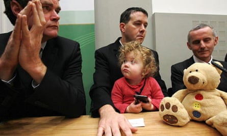 Mark Dearey , Daisy Gogarty, Paul Gogarty and Ciaran Cuffe on 22 November 2010.