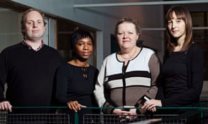 Pauline Crowe and her team from Prisoners Abroad