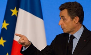 French President Sarkozy at 40th anniversary of the Franco-Arab chamber of commerce