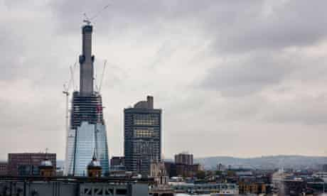 The Shard under construction