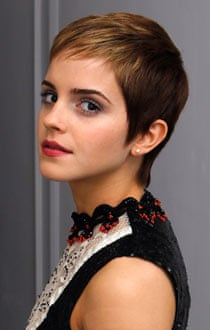 Emma Watson and her sleek pixie crop