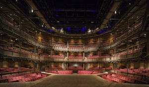 RSC Stratford-upon-Avon : Royal Shakespeare Company inside view of the Theatre
