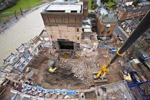 RSC Stratford-upon-Avon : RSC building work in progress