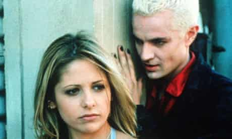 Sarah Michelle Gellar, in a scene from the cult American TV show Buffy The Vampire Slayer