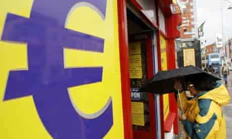 Euro store in Dublin