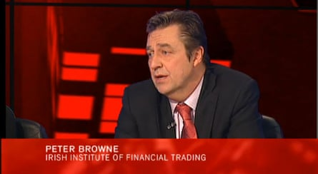 Peter Browne on Tonight with Vincent Browne
