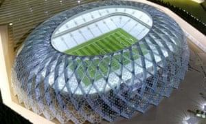 Al-Wakrah football stadium: Doha