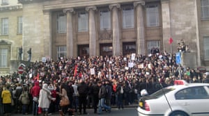 Pictures by students: Protests in Leeds