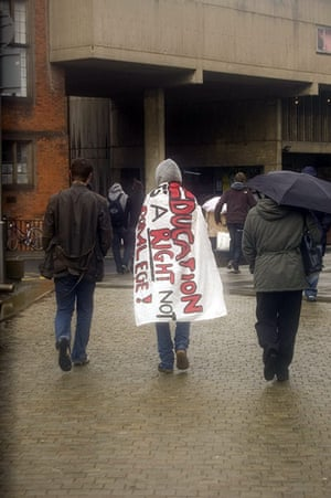 Pictures by students: Newcastle protests