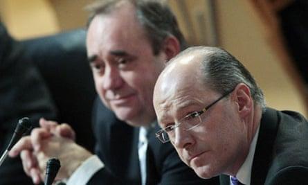 Alex Salmond tartan tax row