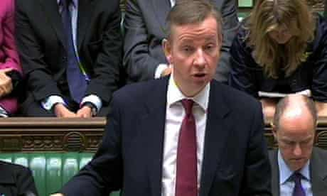Michael Gove in Commons