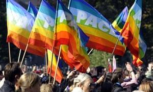 Serbia Gay Pride parade