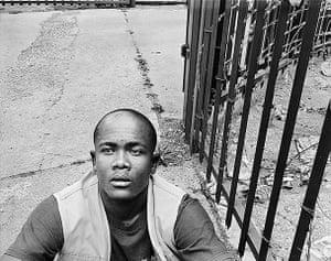 David Goldblatt: Trevor Mabuela, born in Alexandra Township, Johannesburg, 2010