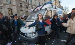 Student Protests The Riot Girls Uk News The Guardian