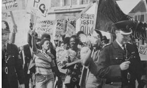 Mangrove nine demonstration 1970