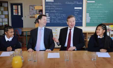 Gove and Clegg