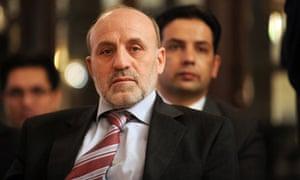 Afghan president Hamid Karzai's chief of staff, Omar Daudzai