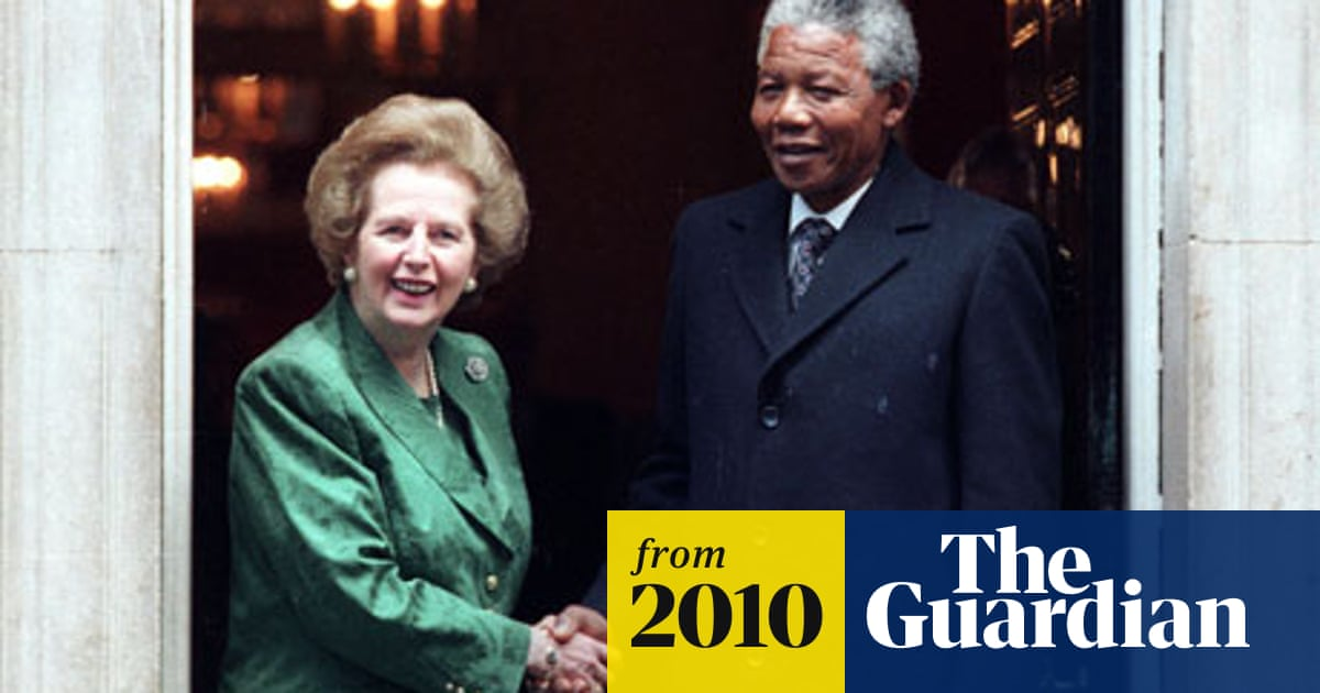 Nelson Mandela And Margaret Thatcher The Meeting That Never