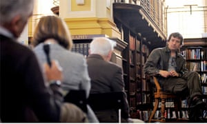 Santiago Roncagliolo at Edinburgh Central Library, by Tales of One City