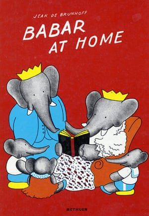 10 best illustrated : Babar at Home