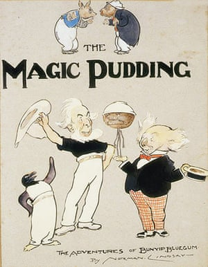 10 best illustrated : The Magic Pudding