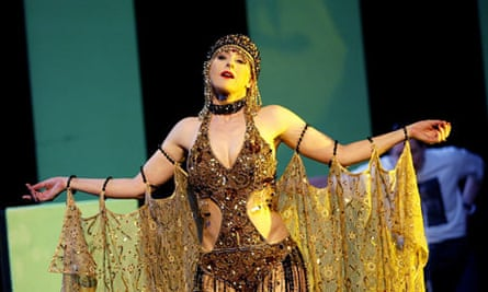 Lisa Saffer in ENO's version of Alban Berg's Lulu