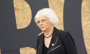 Iceland's Prime Minister Johanna Sigurda