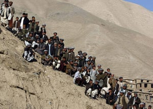 24 hours in pictures: newly found gold mine  in Afghanistan