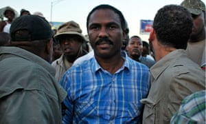 Haiti presidential candidate Jude Celestin