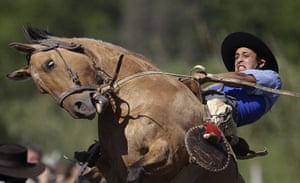 24 hours in picrtures: gaucho in argentina
