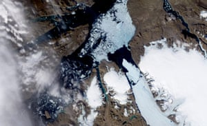 Year in Climate: Petermann Glacier