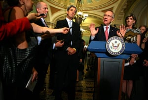 Year in Climate: Sens. Reid And Kerry Address Energy Legislation Along With Browner