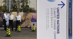 Year in Climate: Tianjin meeting