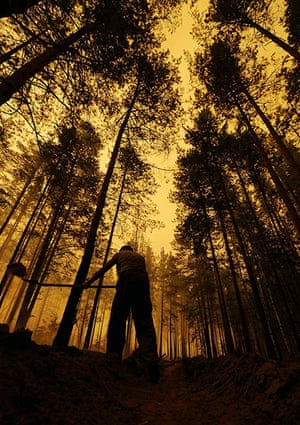 Year in Climate: Fires in Russia